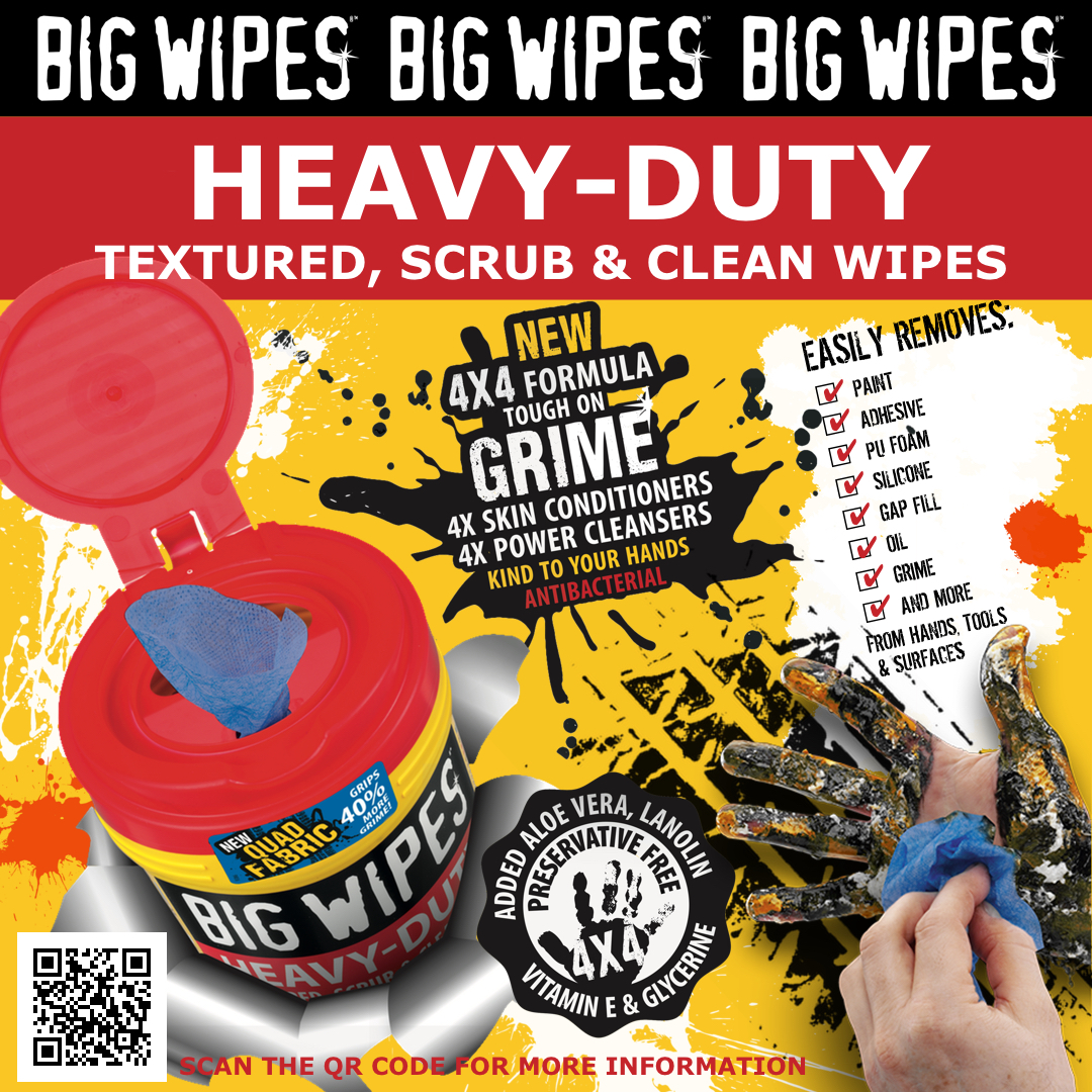Heavy-Duty Big Wipes